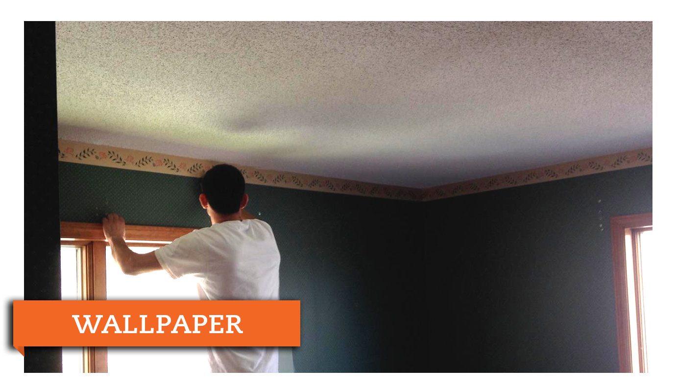 Wallpaper Removal And Installation Chamberland Professional Painting